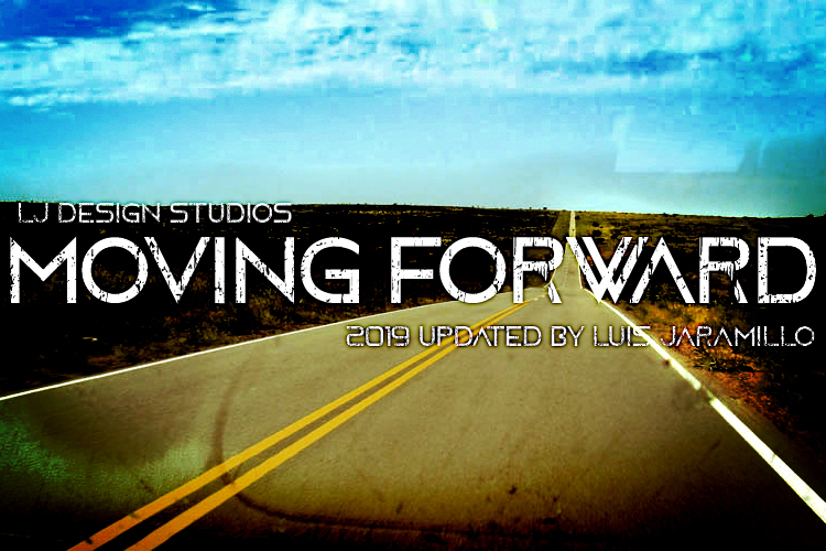 4 Moving Forward font Pack example image 2
