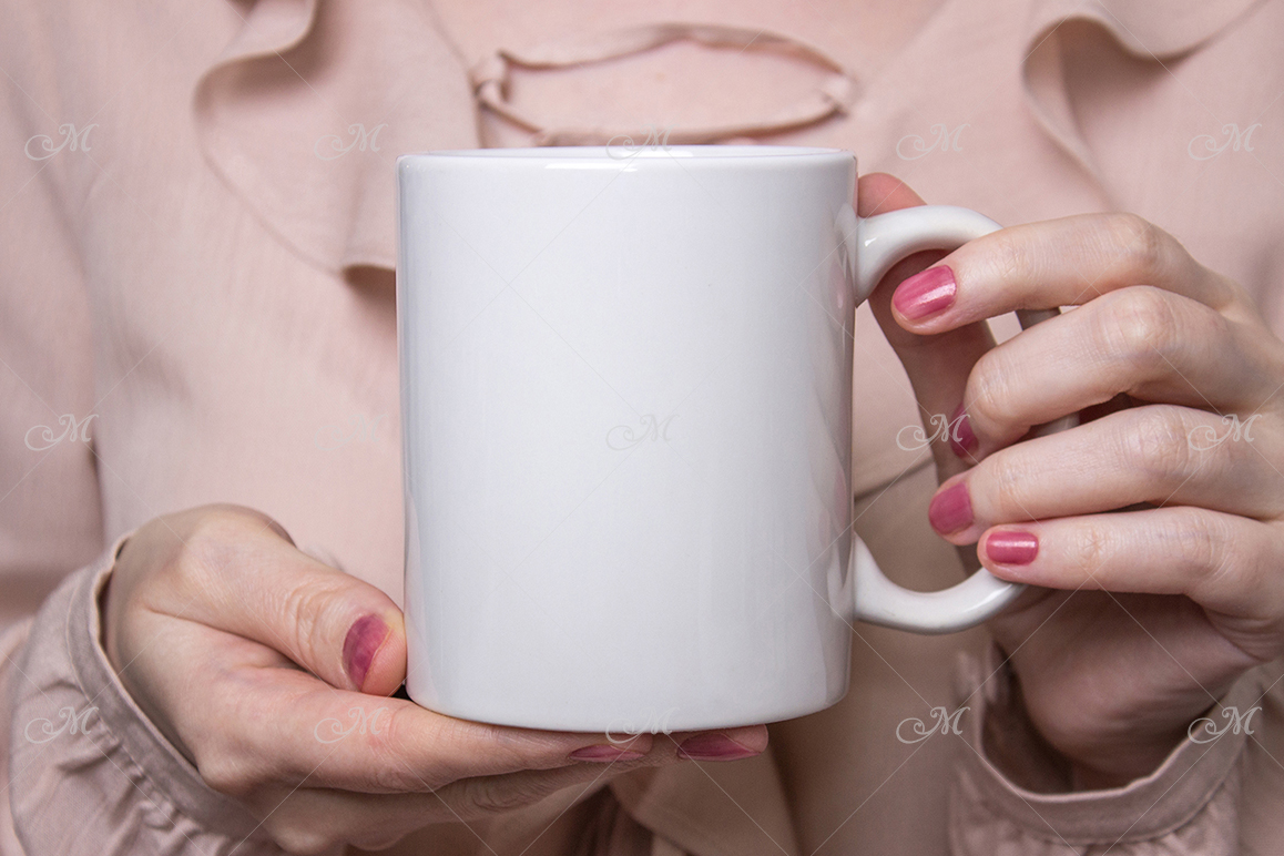 Pretty Mug Mockup. PSD & JPEG example image 2