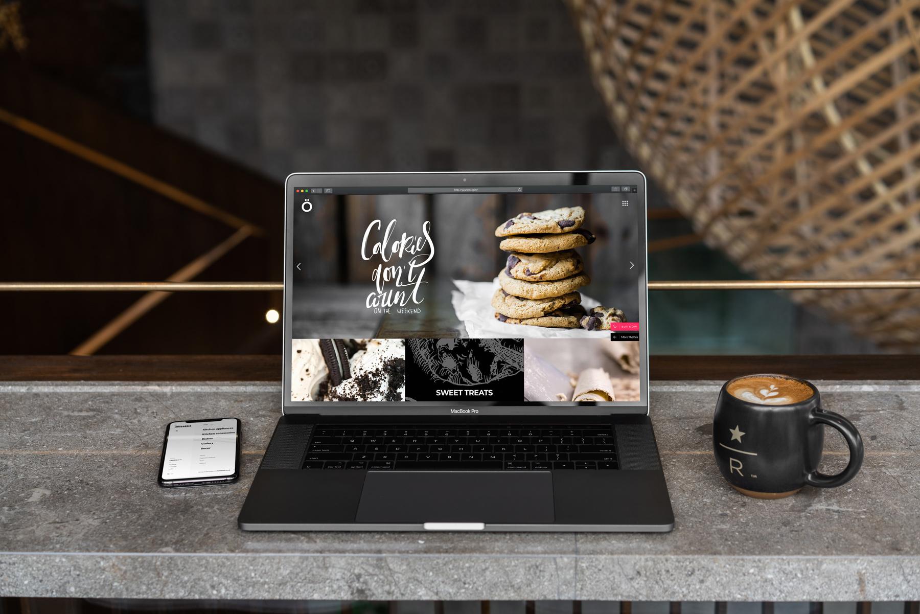 MacBook Pro Mock-Up Loft Style example image 2
