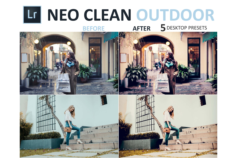 Neo Clean Outdoor Desktop Lightroom Presets example image 7