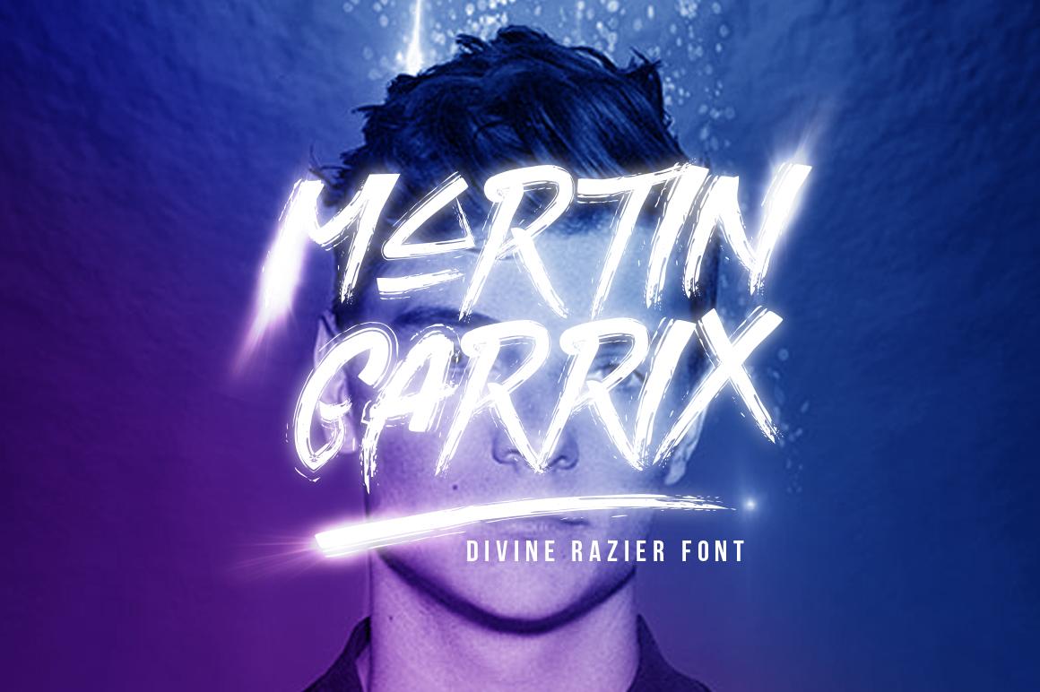 Divine Razier Font  Intro Sale!  example image 2