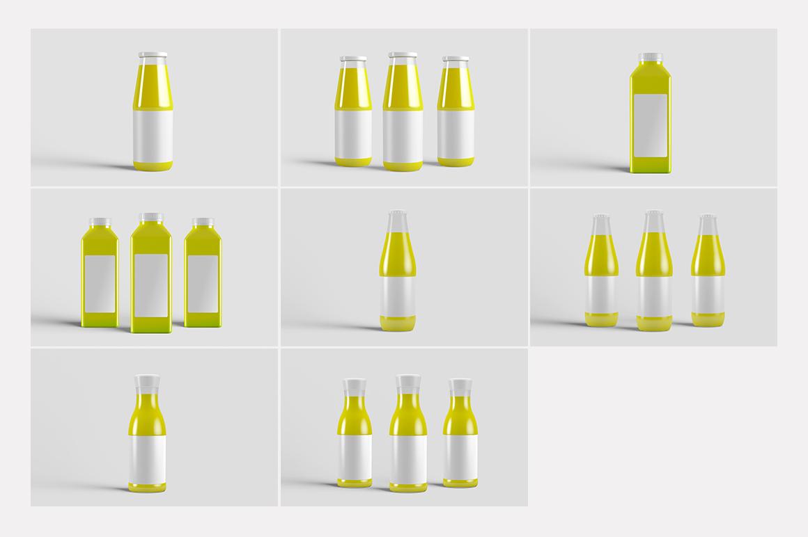Juice Bottle Mock-Up example image 15