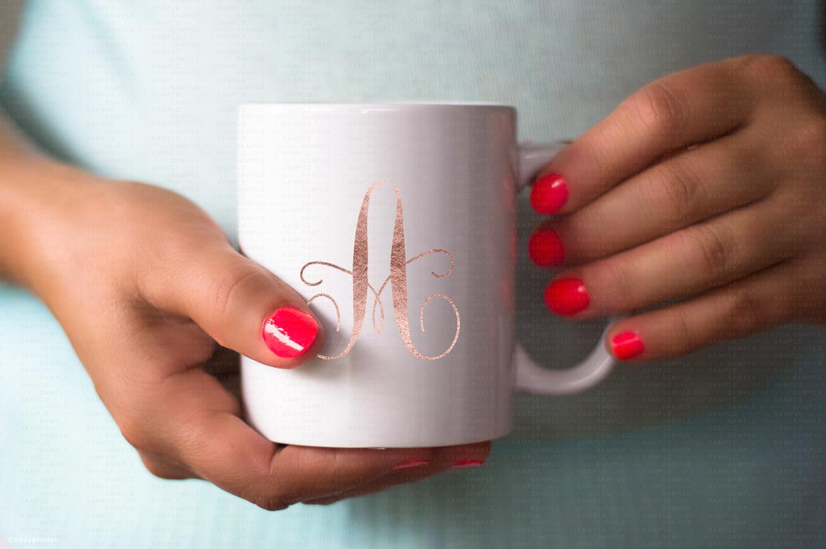 Hands Holding Mug Mockup #4 example image 3