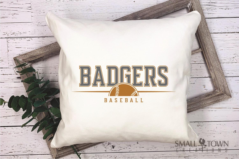 Badger, Badger Baseball Team, Sport, PRINT, CUT & DESIGN example image 3