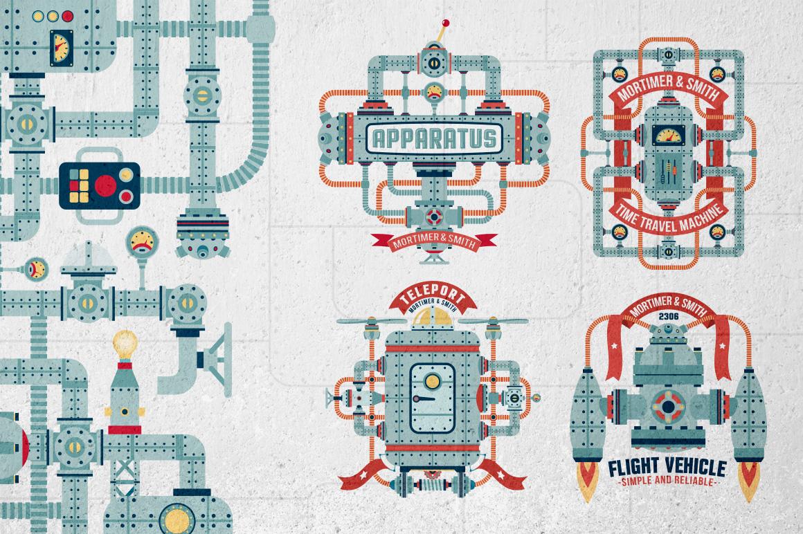 Fantastic Machine Templates example image 2