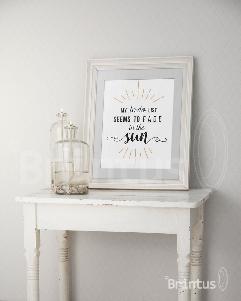 Frame mockup - clean bright interior oil lamp example image 6