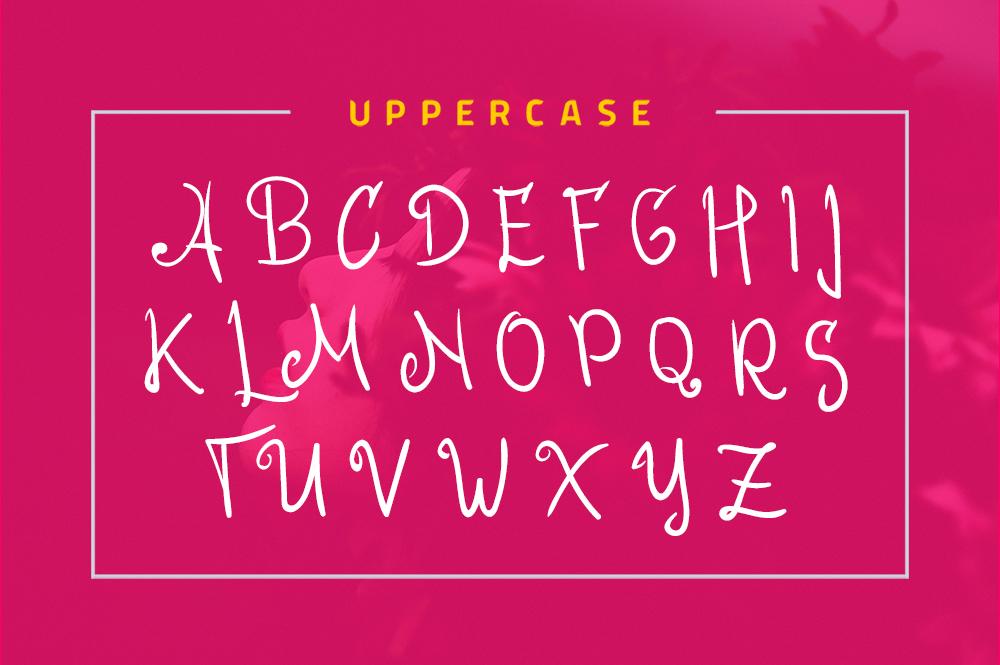 Roseline Script Font example image 5