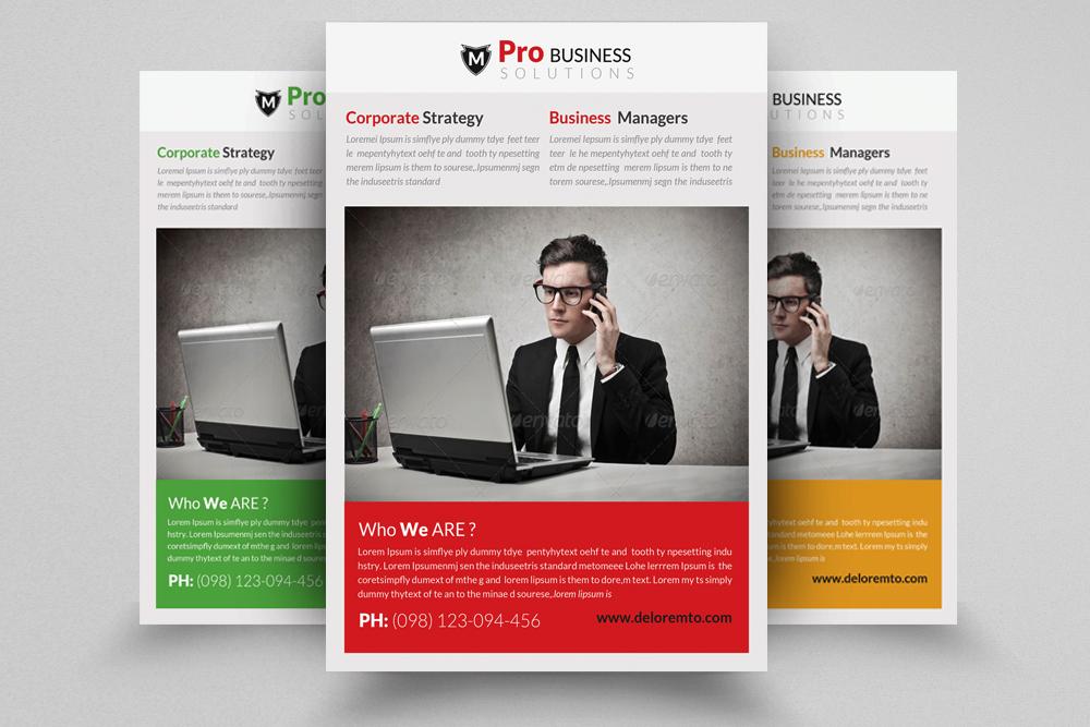 6 Creative Business Flyers Bundle example image 5
