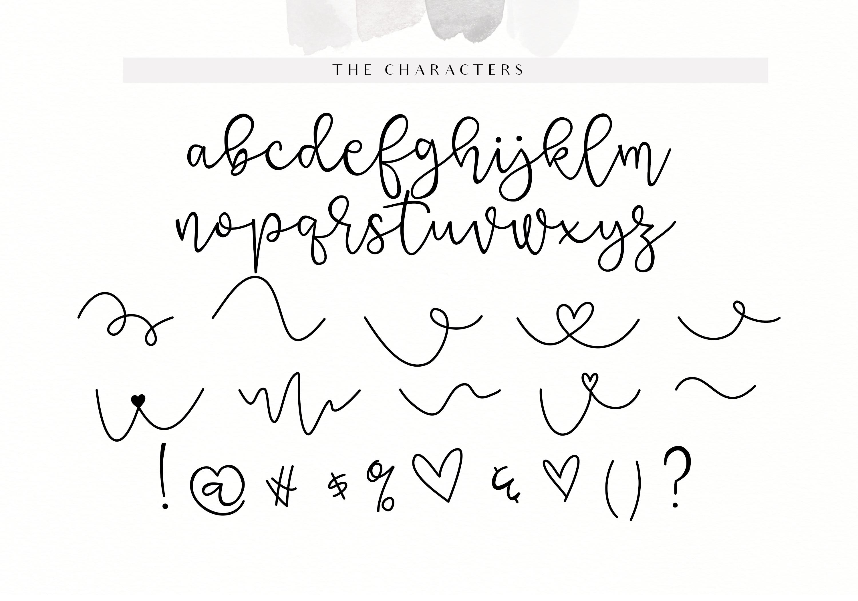 Grateful - Handwritten Script Font example image 15