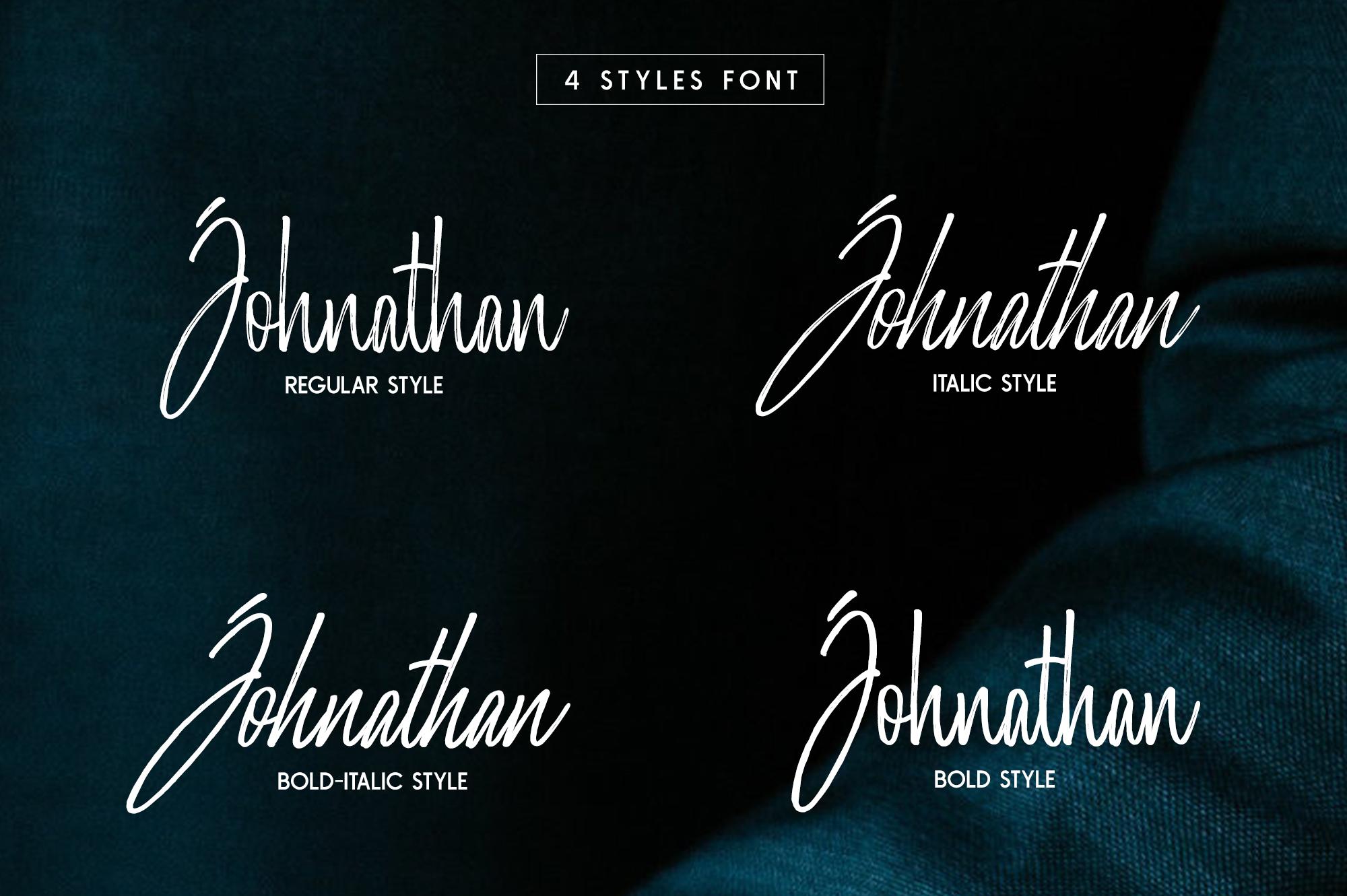Morristone Script & Sans example image 6