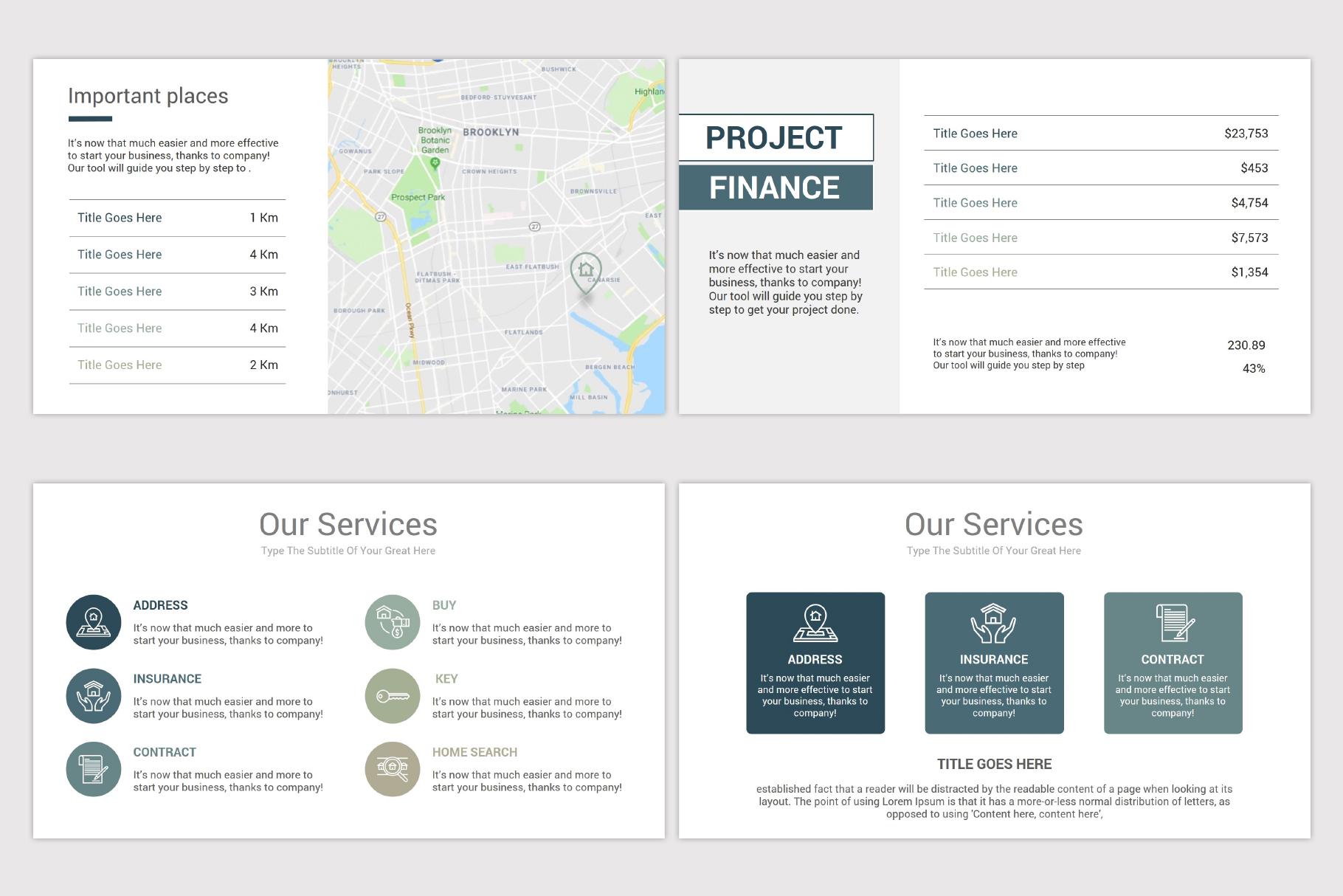 Real Estate Google Slides Template example image 7
