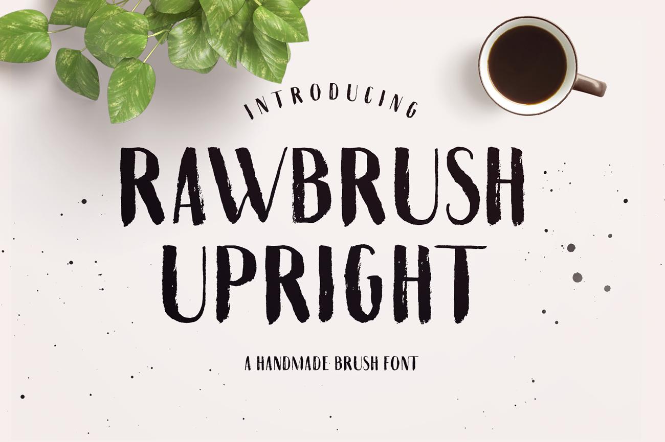 Rawbrush Upright example image 1