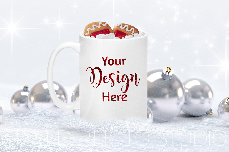 Christmas Mug Mockup Bundle, Cup Mock Up Bundle, JPG example image 3