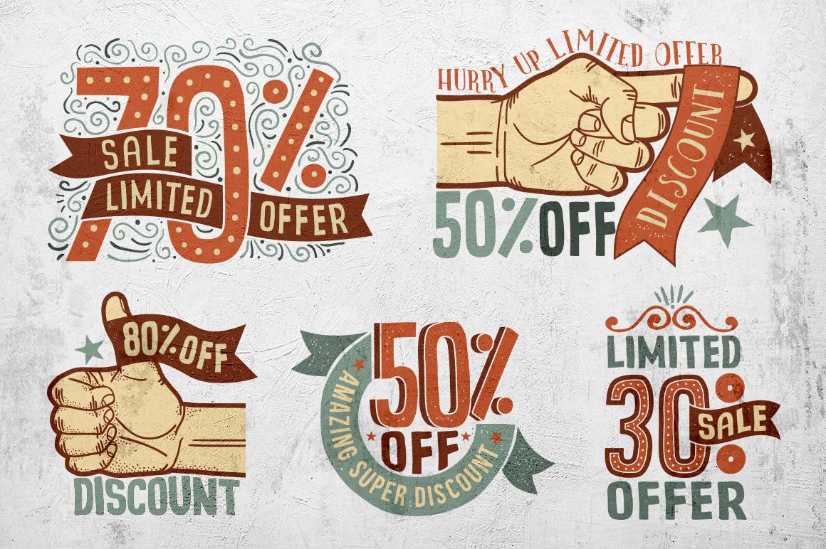Sale Discount Set example image 6