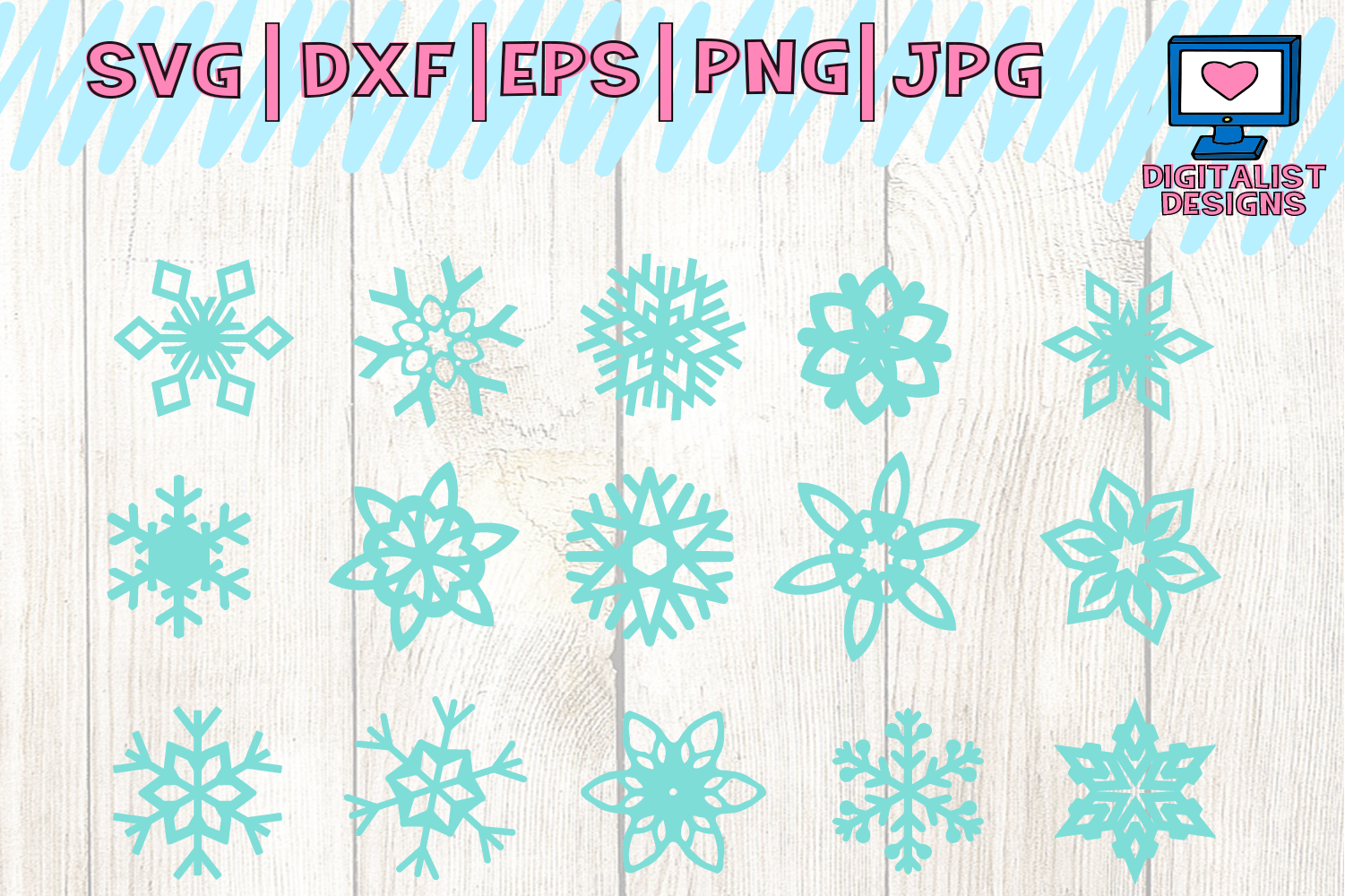 christmas bundle svg, dxf, png, jpg, eps example image 5