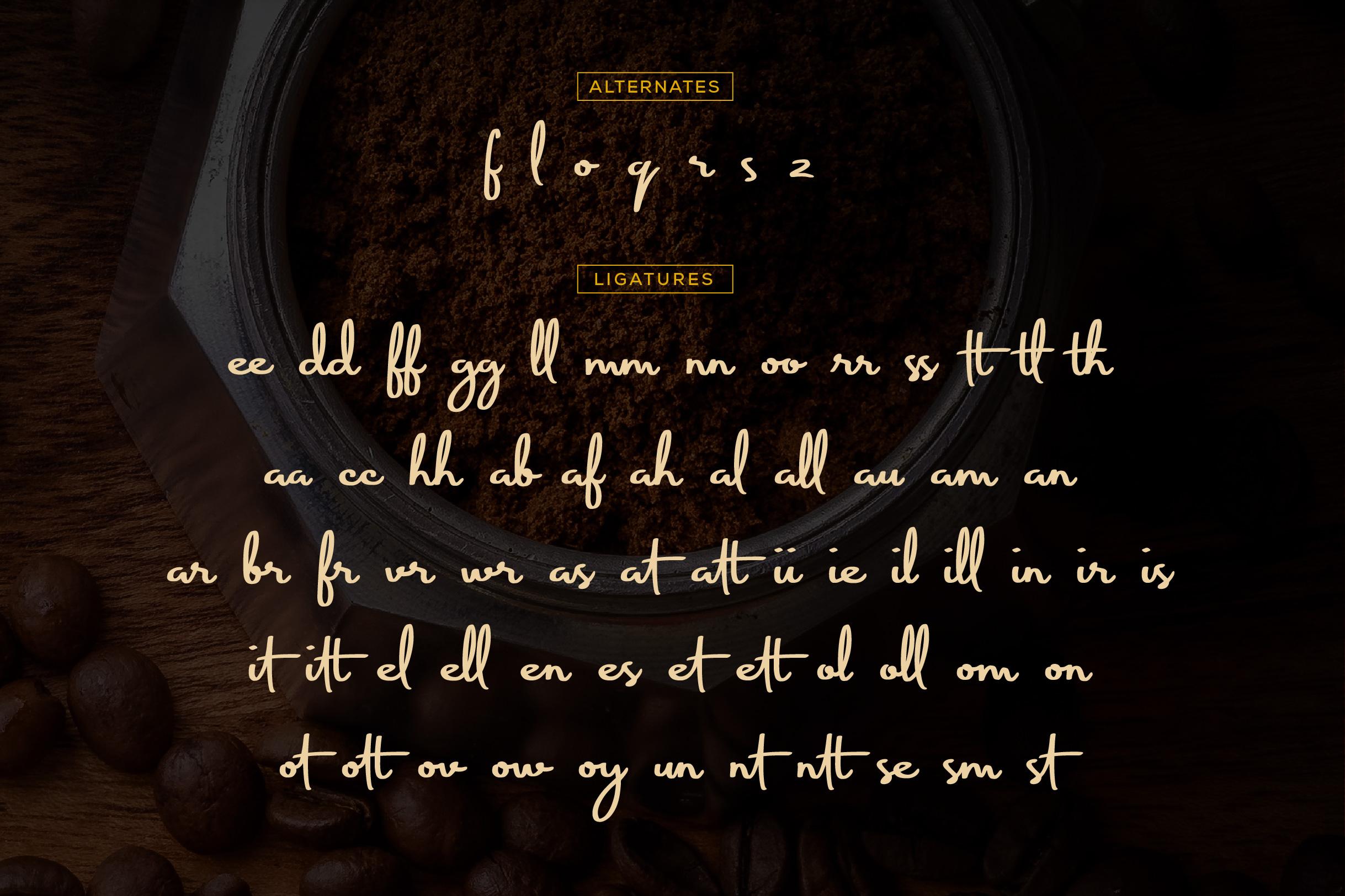 Koofinee Natural Script Font example image 5