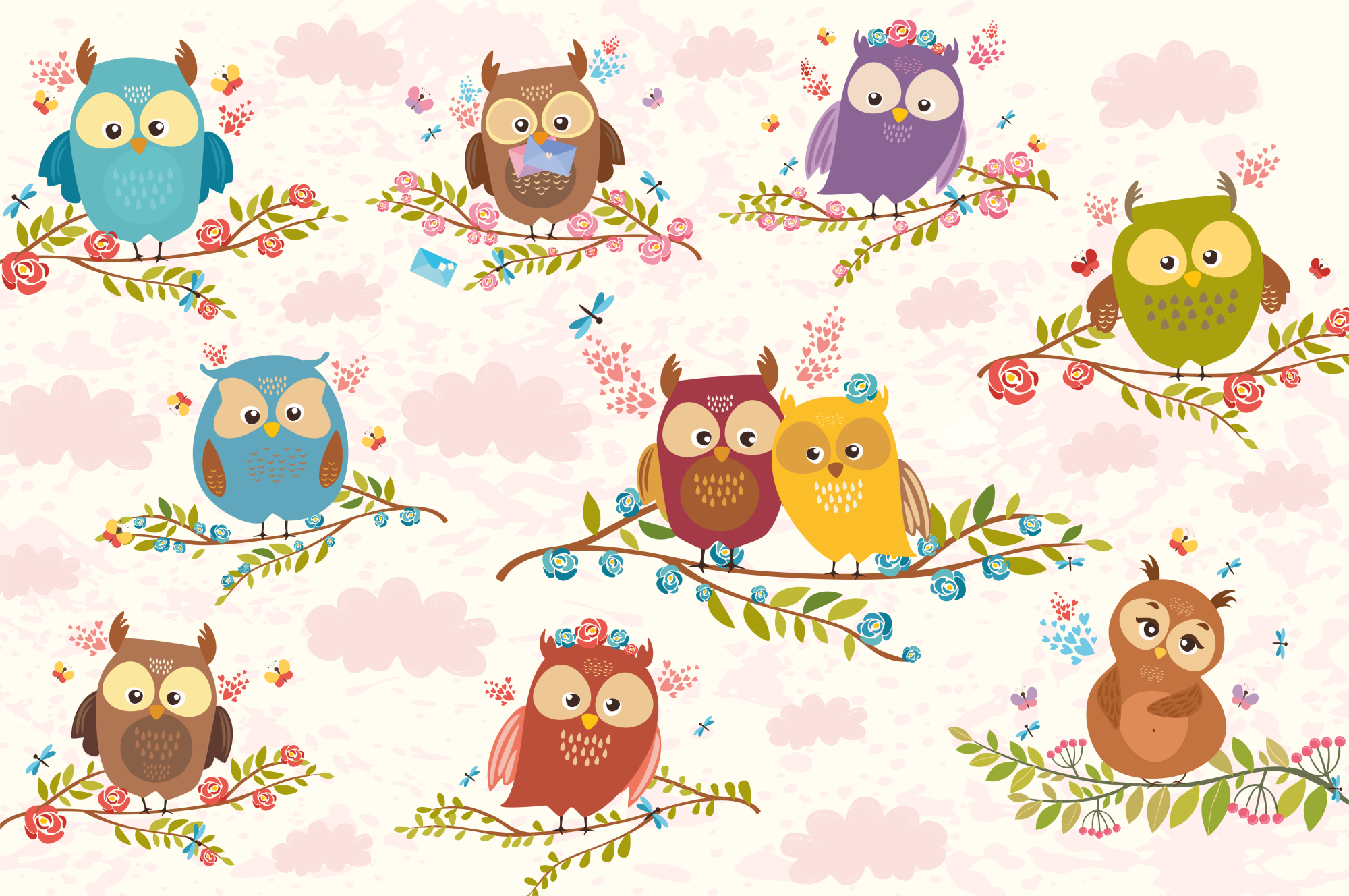 Charming Owls  example image 3