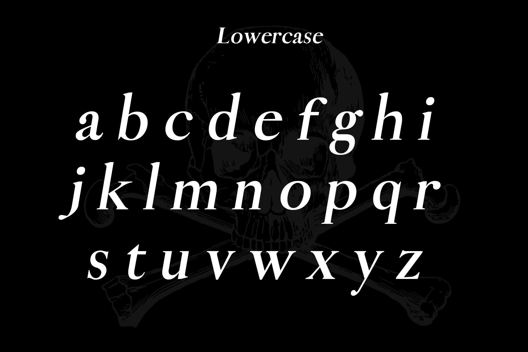 Pirate Typeface example image 2
