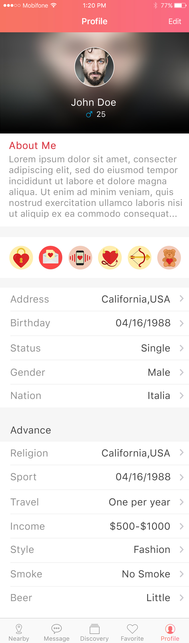 Bubbdy - Dating App example image 15