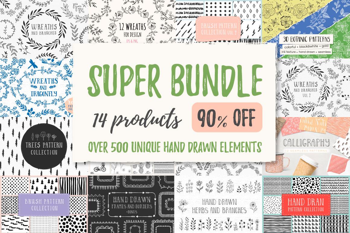 SUPER SALE Bundle - 90% off! example image 1