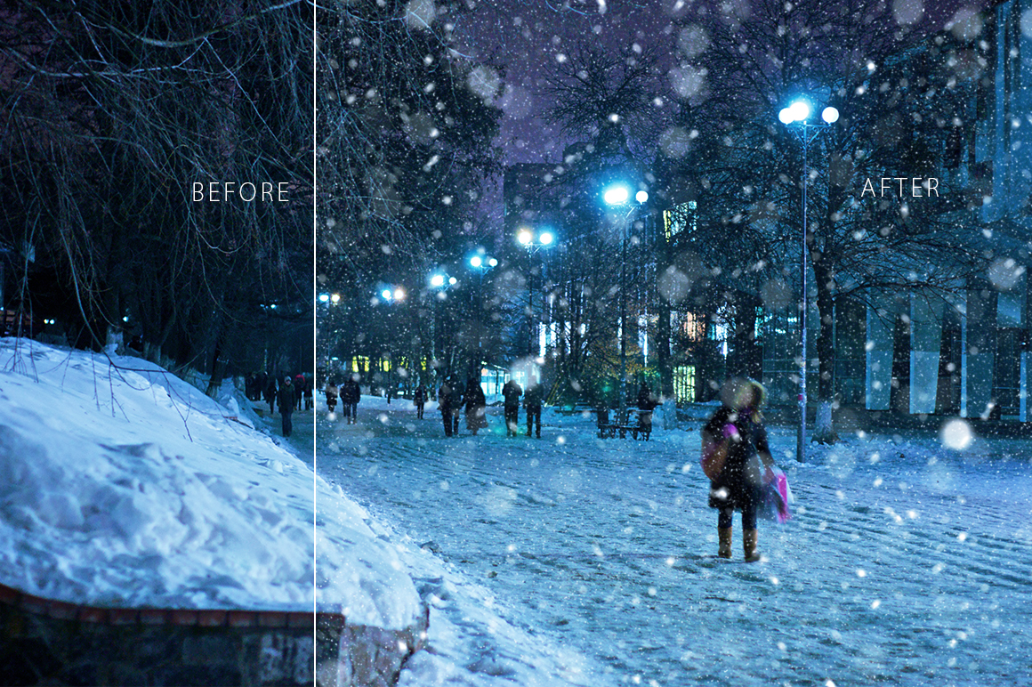 Real Snow Overlays example image 5
