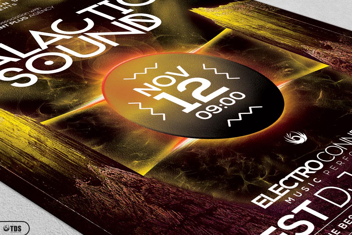 Galactic Sound Flyer Bundle example image 16