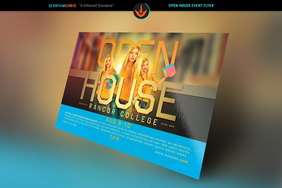 Open House Flyer Template example image 2