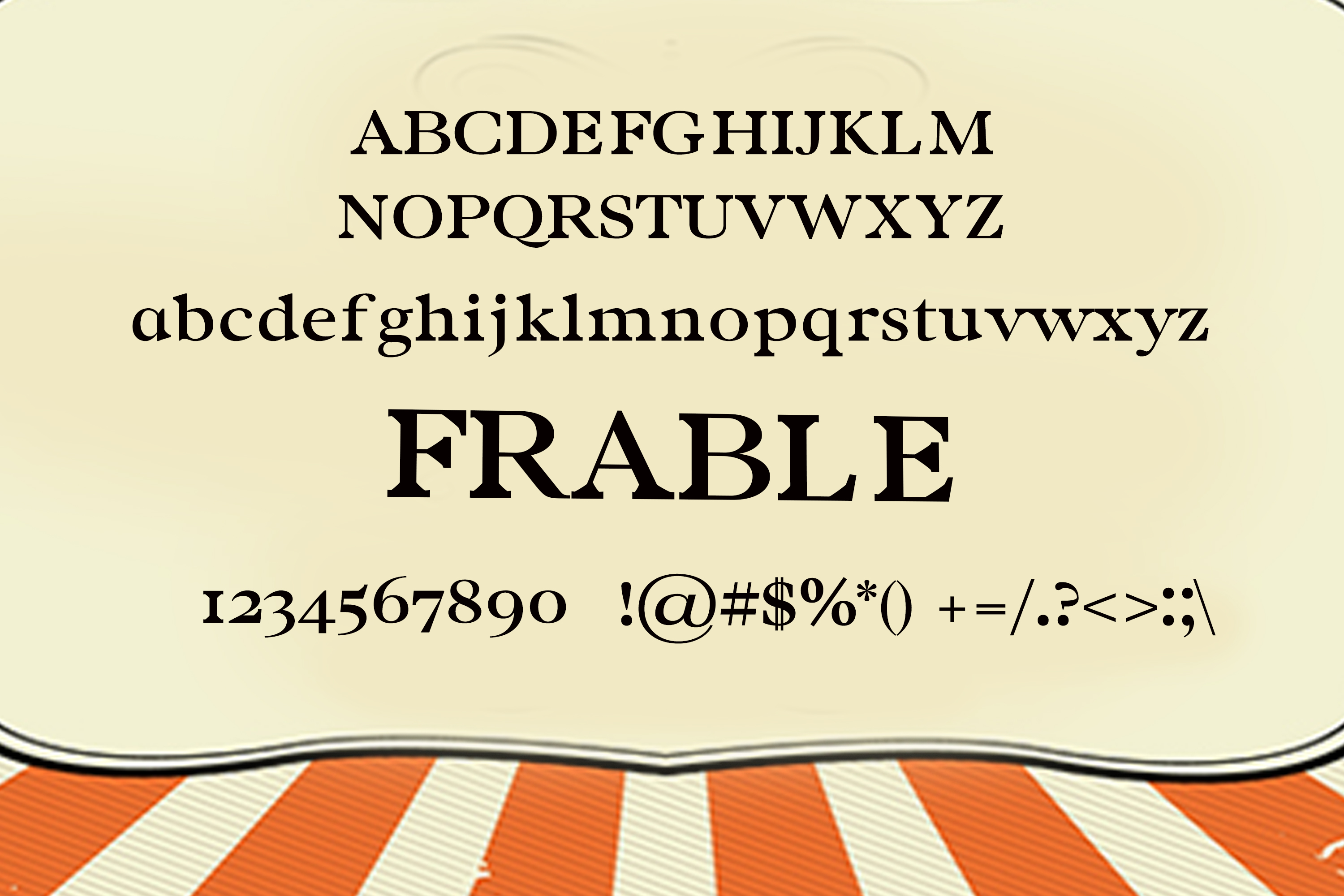 Frable Font example image 2