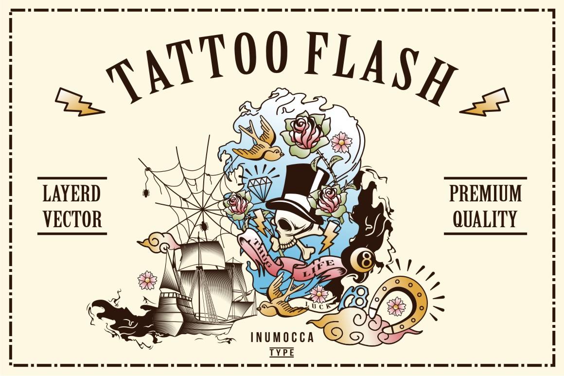 40 Tattoo Flash (full colors) example image 1