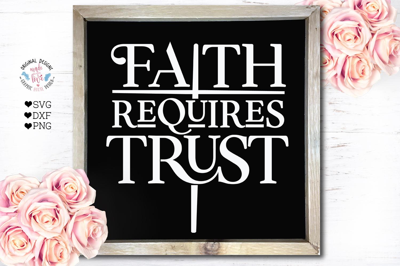 Faith Requires Trust Cut File example image 1