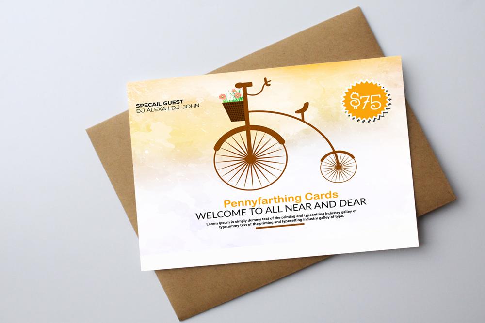 Invitation Card Template example image 3