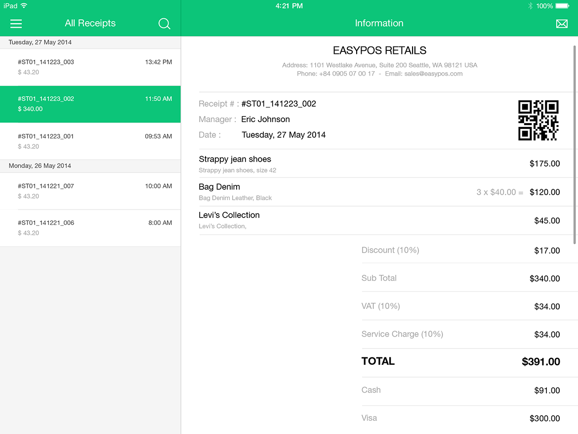 EasyPOS Touch Retails UI Graphic example image 14