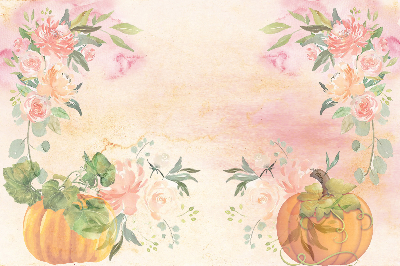 Fall Autumn Harvest Journaling kit with free ephemera CU example image 2