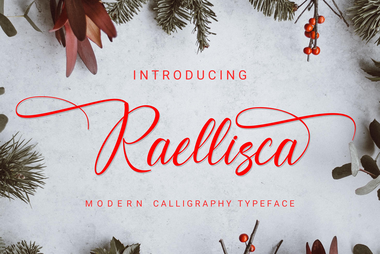 Raellisca Script example image 1