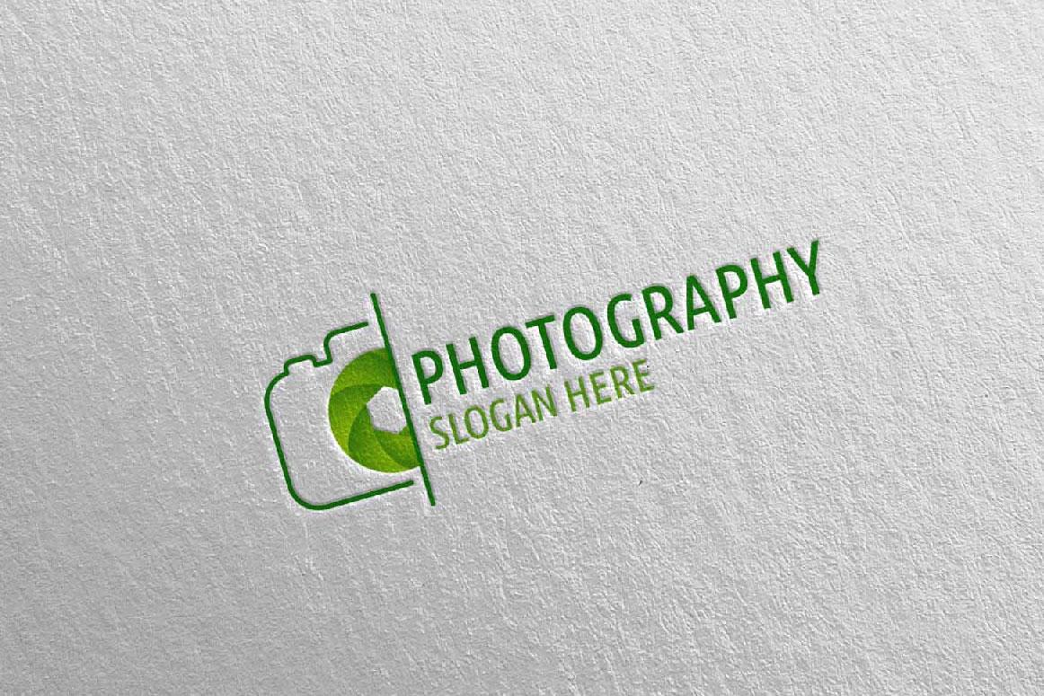 Abstract Camera Photography Logo 5 example image 2