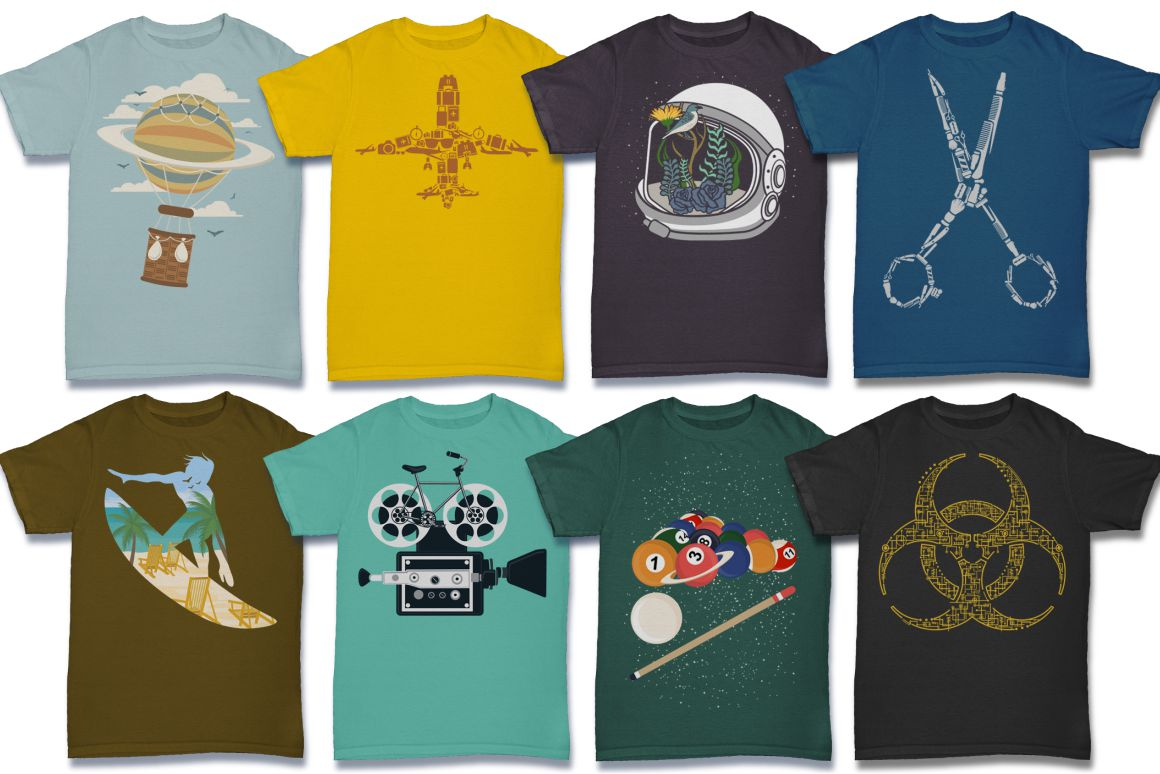 103 Tshirt Designs Mega Bundle example image 2