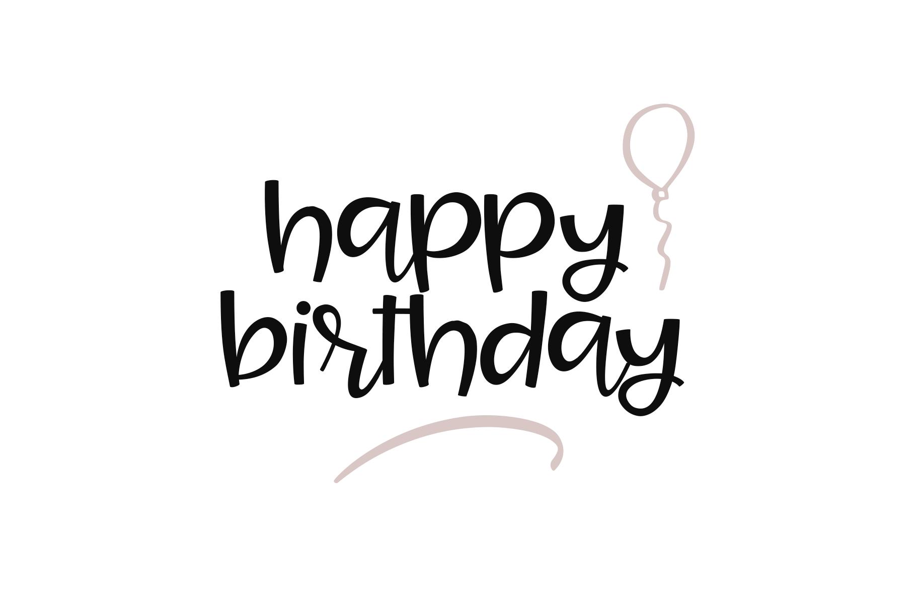 Joy & Hugs Handwritten Script Font - with doodle extras! example image 6