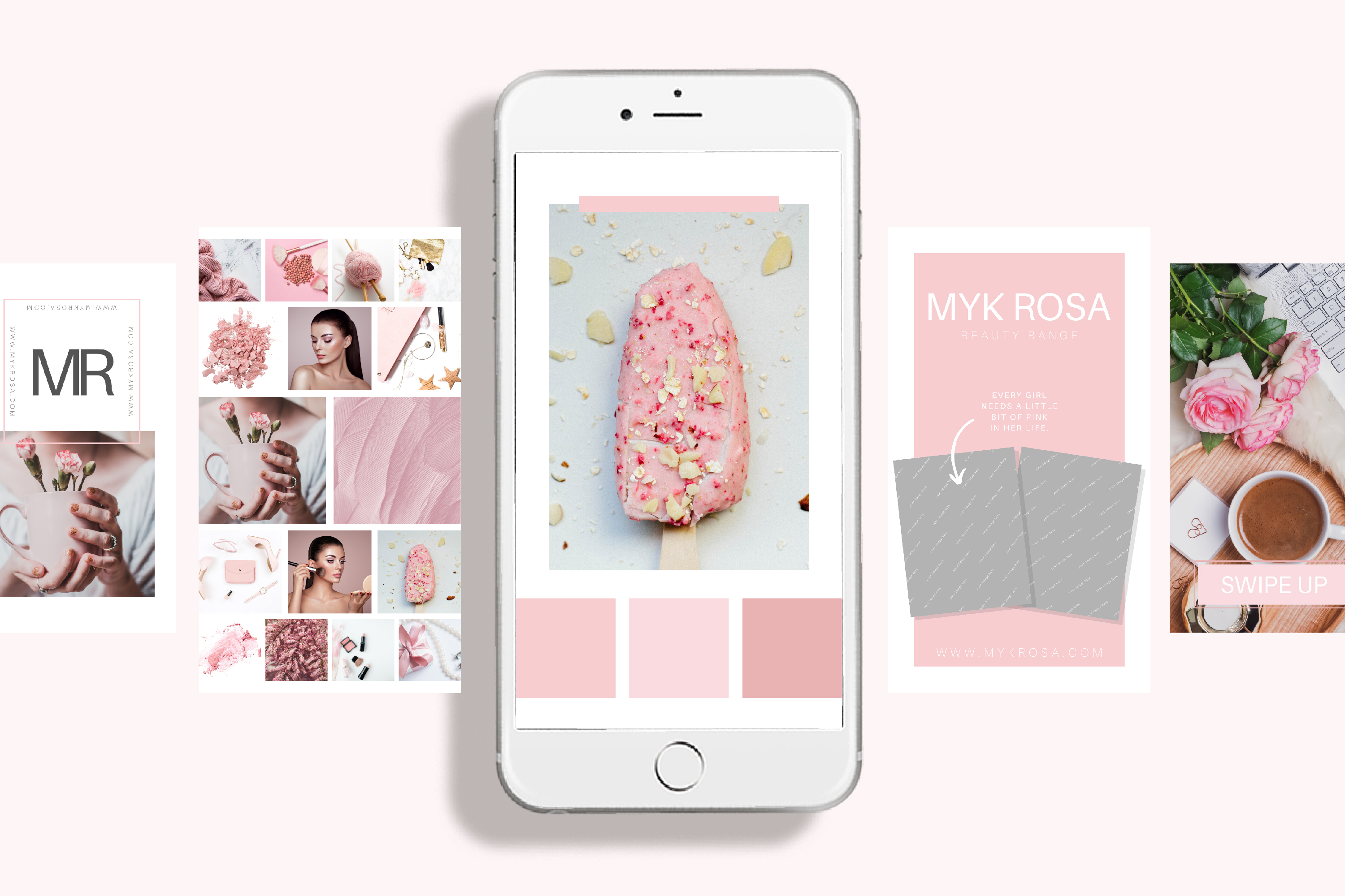 Instagram Story Canva Template - Myk Rosa example image 2