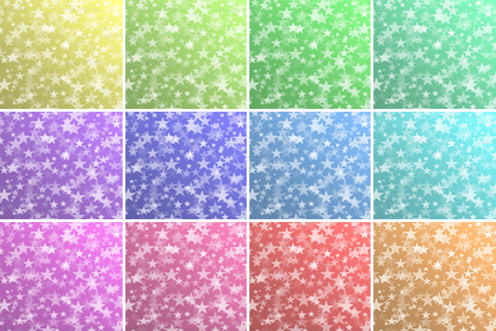 Pastel Stars Bokeh digital paper, Pastel colors Bokeh Overlay, Star Bokeh backgrounds, Instant Download, for Personal & Commercial Use example image 2