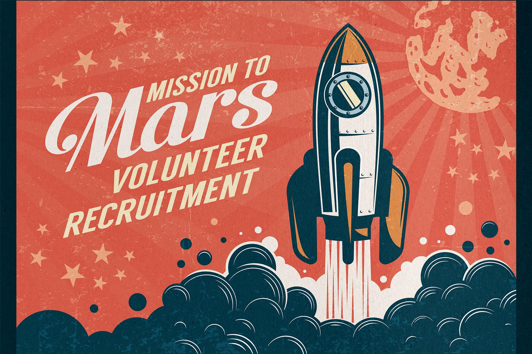 6 Vintage Rocket Posters example image 3