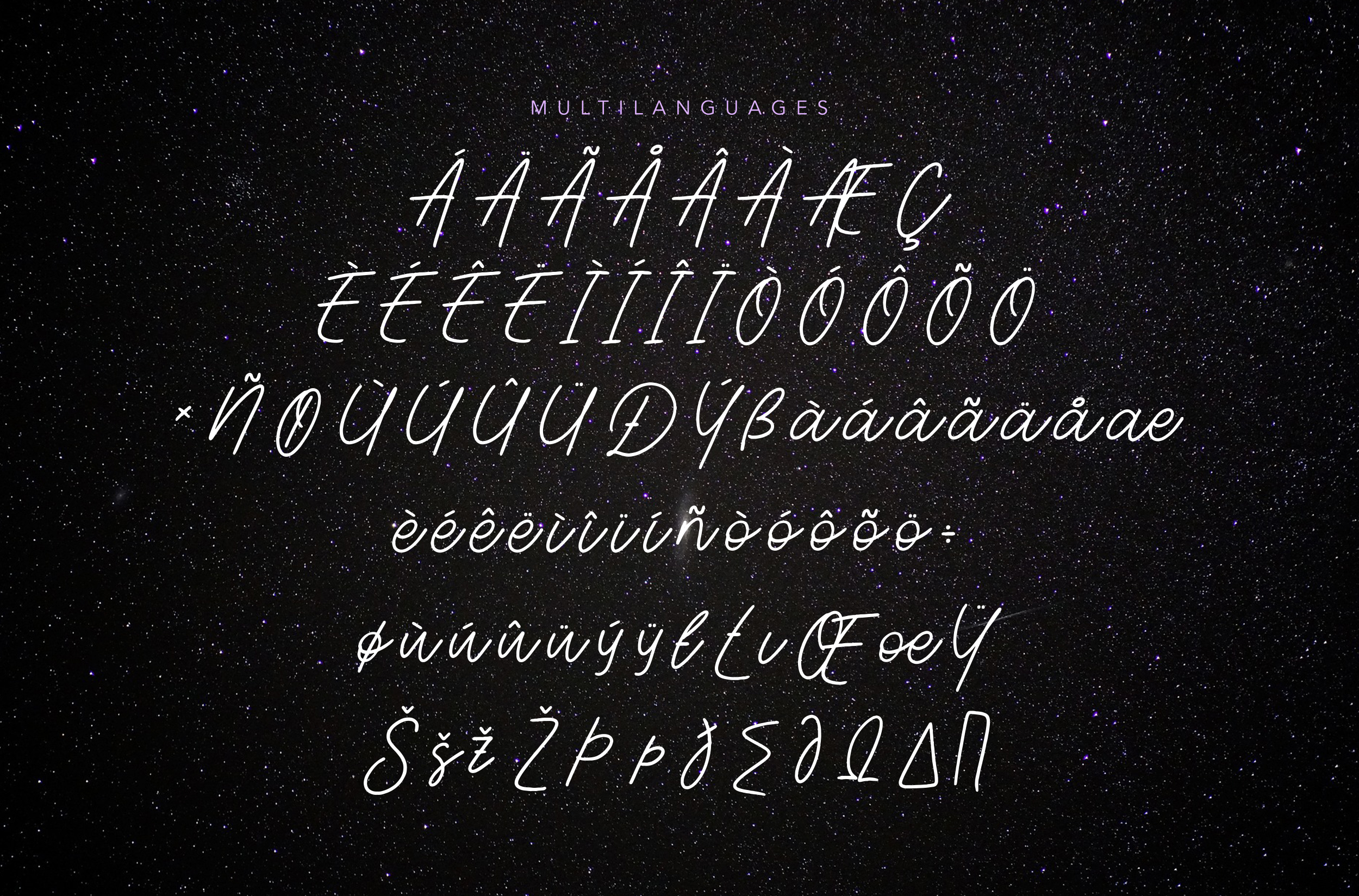 Aesthetik | Handwriting Font example image 7