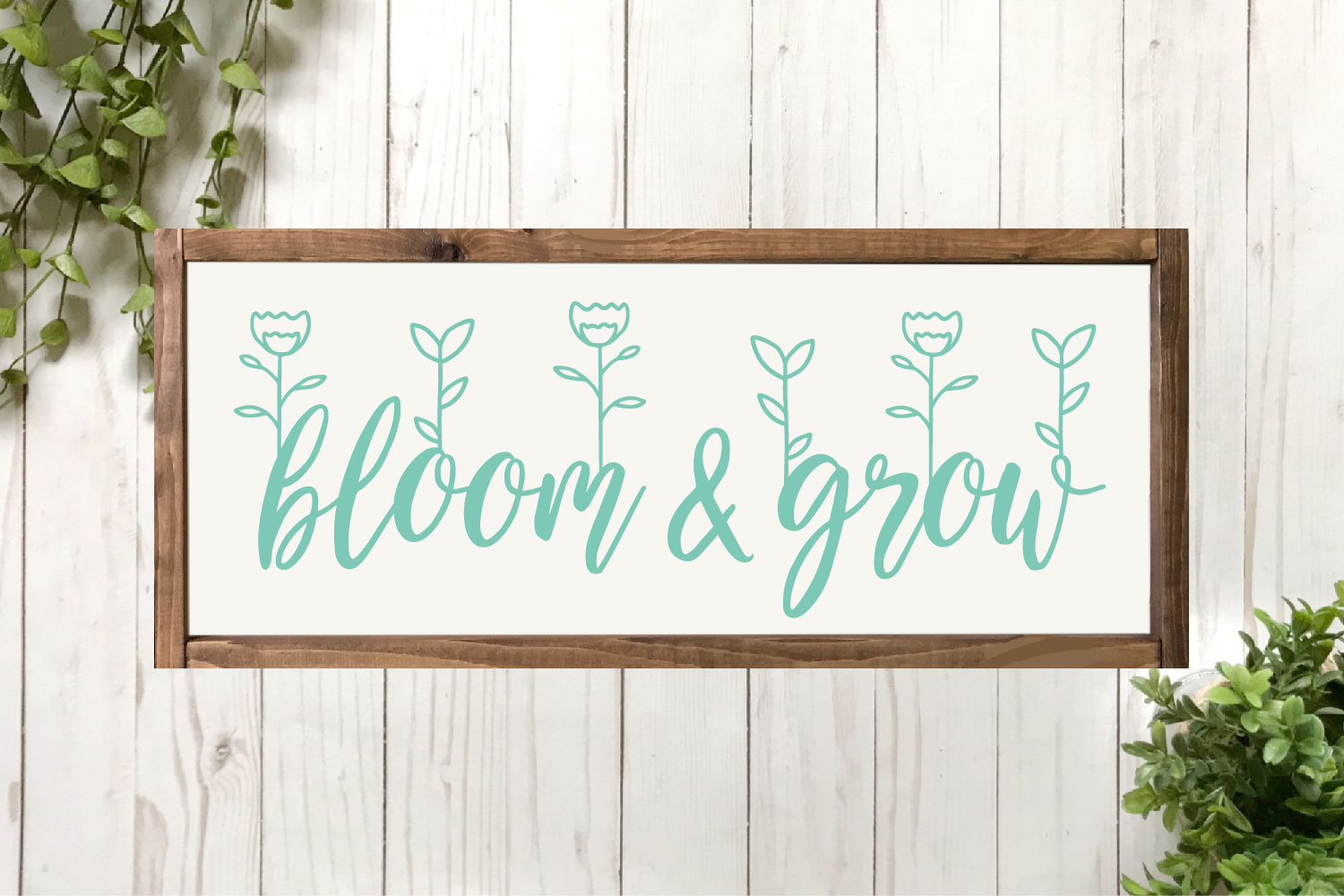 Spring SVG Bundle - Cut Files for Signs example image 9