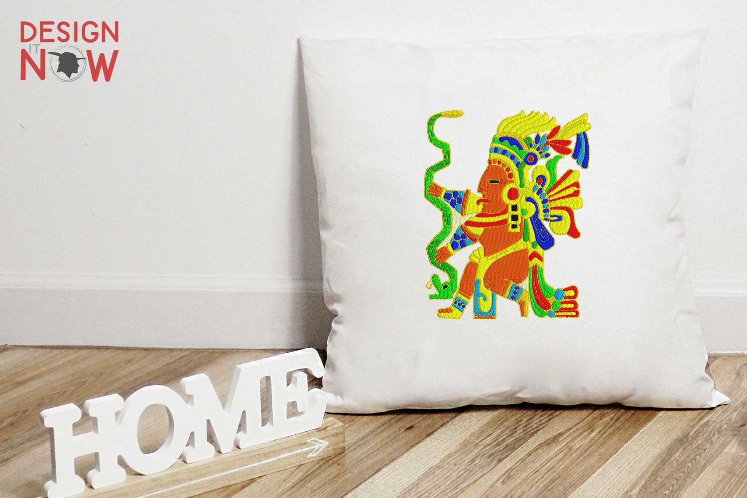 Inca Culture Embroidery Design, Inca Mythology Embroidery example image 3