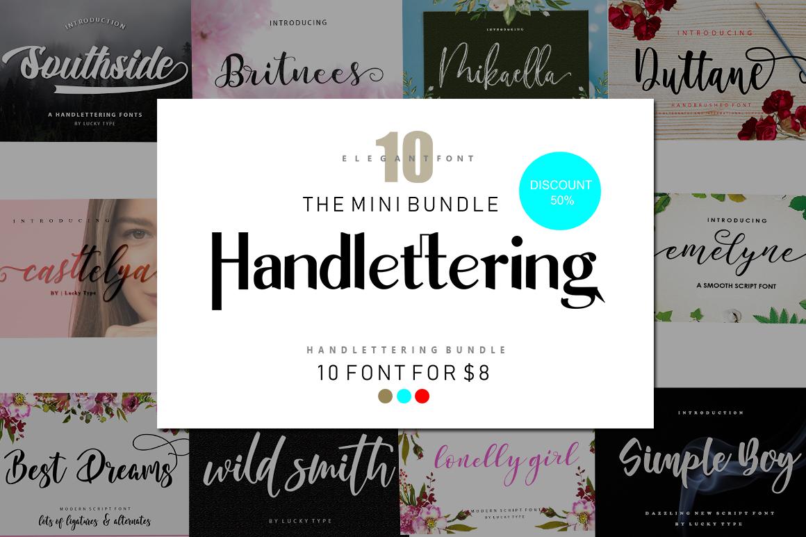 Mini Bundle Handlettering example image 1