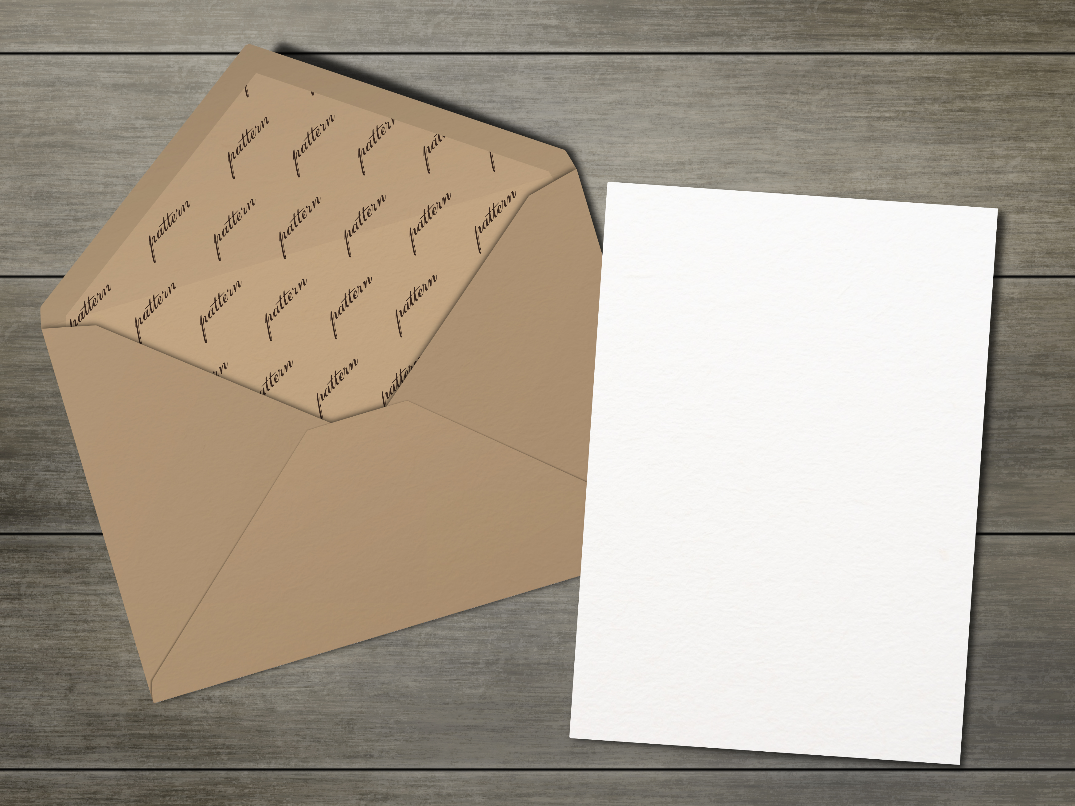 Mockup pack. Greeting Cards & Envelope. example image 2