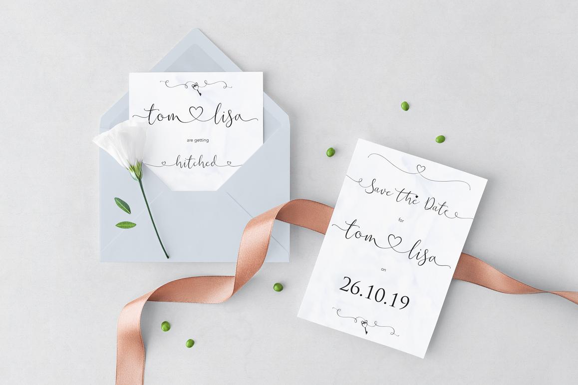 iHeart it wedding font example image 7