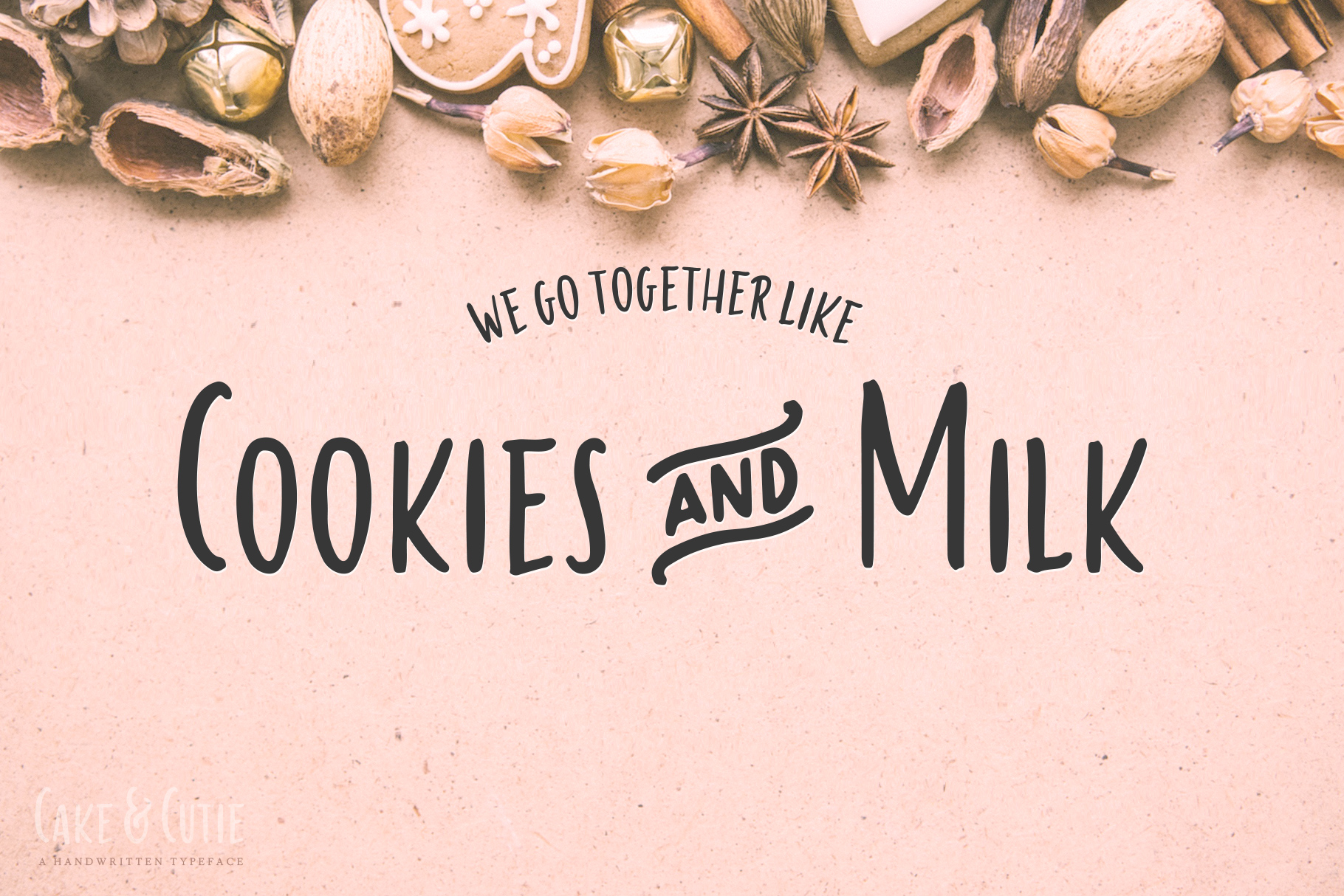 Cake & Cutie | A Handwritten Typeface example image 2