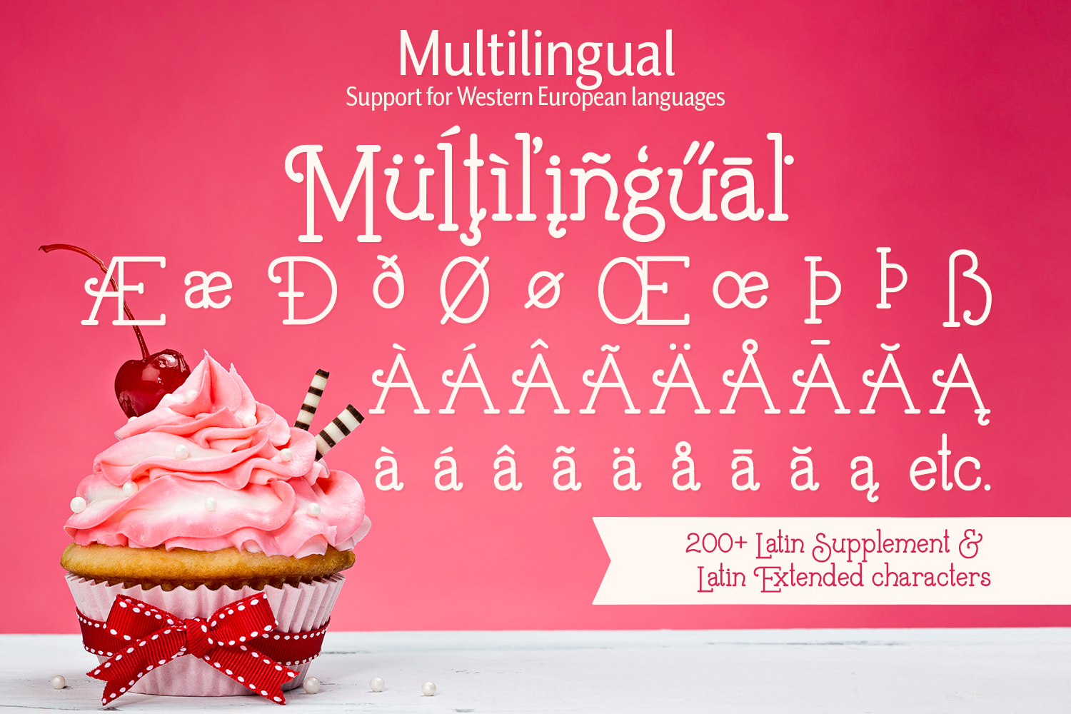 Buttercream Dream - A fancy font duo example image 13
