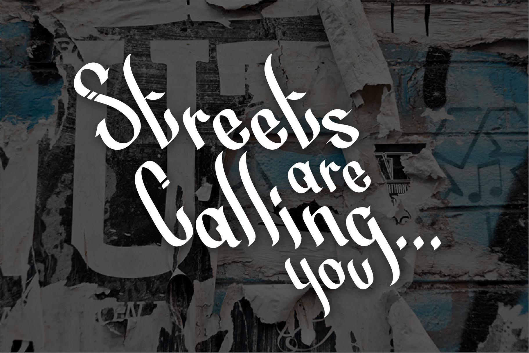 Street Beat Graffiti Typeface example image 3