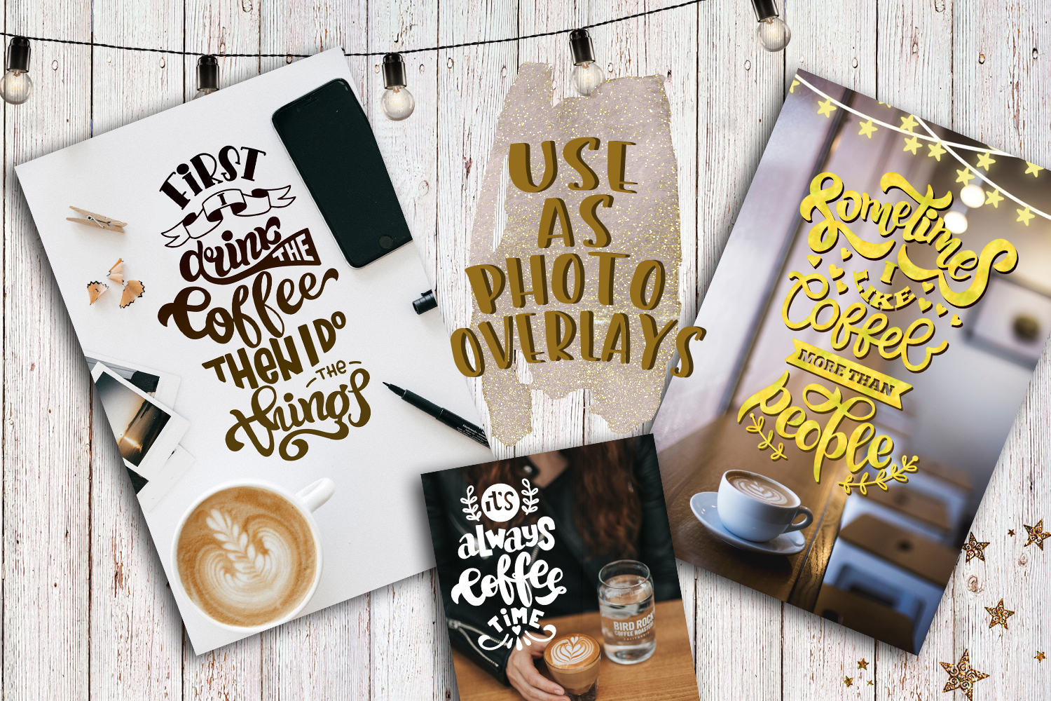 Coffee bundle svg Coffee lovers SVG for t-shirt Design example image 3